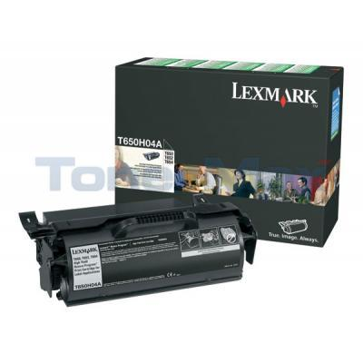 LEXMARK T650N RP PRINT CART FOR LABEL APPS 25K